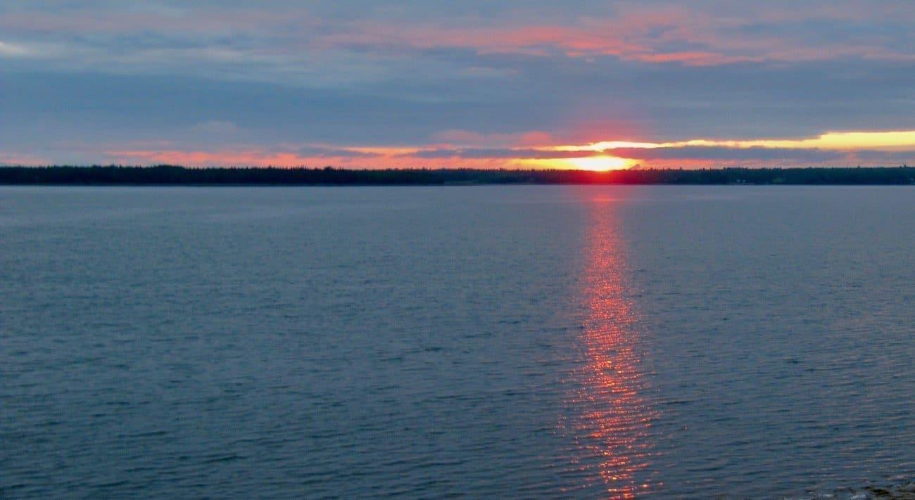 Blue Horizons sunset