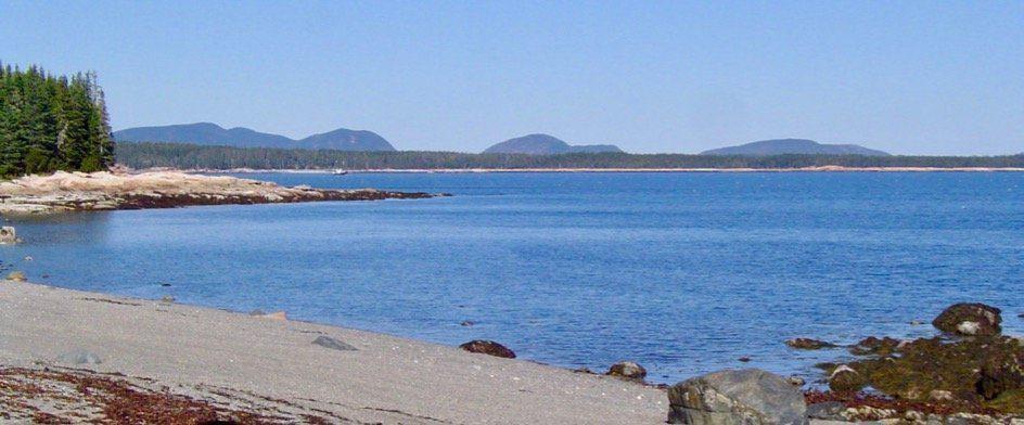 Great Gott northest shore