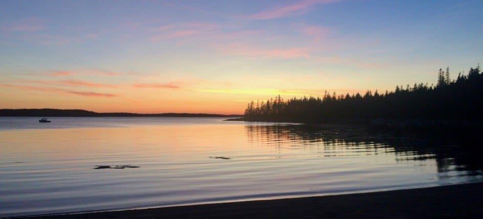 Hog Island sunset