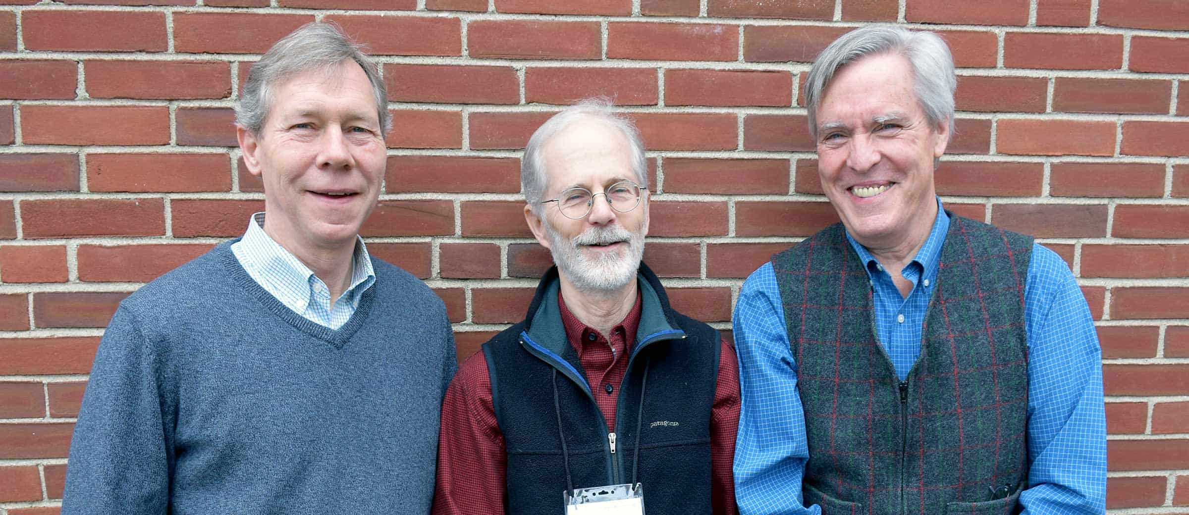 Jay Espy, Burnham Martin, and Tim Glidden