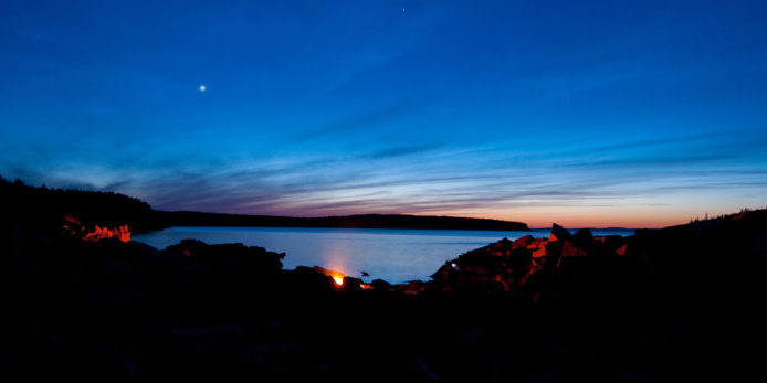 May 17 to 21 shoot on Black Island and Kitteredge Brook Forest for Maine Coast Heritage Trsut