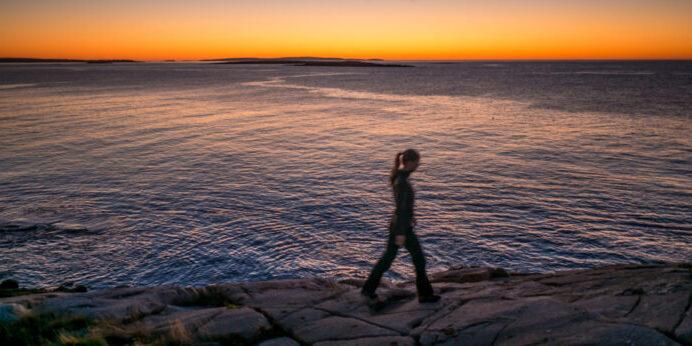 Sunrise on Marshall Island